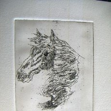 Arte: GRABADO ORIGINAL FIRMADO. Lote 34901207