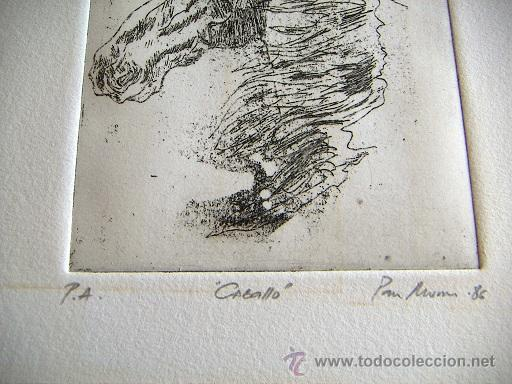 Arte: Grabado original firmado - Foto 2 - 34901207