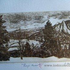 Arte: GRABADO ORIGINAL FIRMADO M.UBEDA. Lote 34901477
