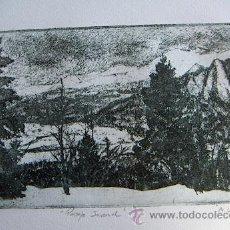 Arte: GRABADO ORIGINAL FIRMADO M.UBEDA. Lote 34901493