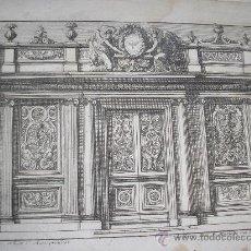 Arte: PORTE COCHÈRE - JEAN LEPAUTRE - CERCA 1656\1657. Lote 34921665