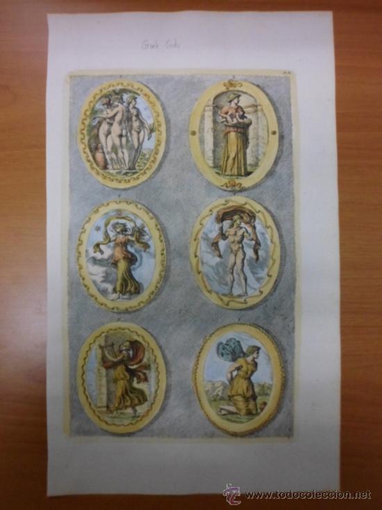 Arte: Dioses griegos, Sandrat, 1679 - Foto 3 - 35209726