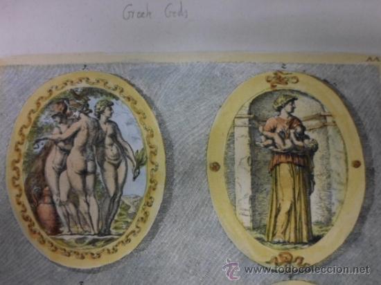 Arte: Dioses griegos, Sandrat, 1679 - Foto 4 - 35209726