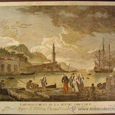 Arte: EMBARQUEMENT DE LA JEUNE GRECQUE. AUTOR: JOSEPH VERNET (1714-1789).. Lote 35081878