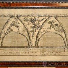 Arte: NICOLAS DORIGNY (1657-1746) GRABADO ORIGINAL DEL AÑO 1693. Lote 35233216