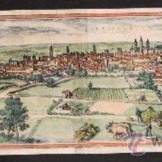 Arte: VALLISOLETVM (VALLADOLID) BRAUN-HOGENBERG 1580. Lote 35221042