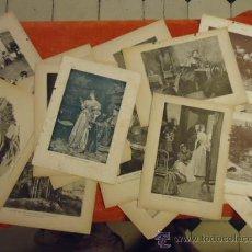 Arte: 80 GRABADOS Y LITOGRAFIAS ANTERIORES AL 1900. Lote 35979451