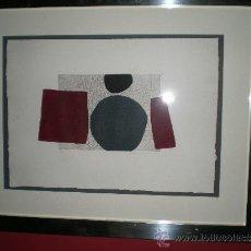 Arte: FANTÁSTICO GRABADO M. RODRIGUEZ ACOSTA. Lote 36148541
