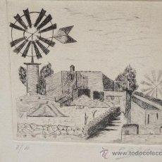 Arte: PAREJA DE GRABADOS DE P. CORBELLA. FIRMADOS Y ENMARCADOS. Lote 36159583