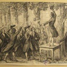 Arte: GRABADO DE ARY SCHEFFER (1759-1858) Y ACHILLE LEFREVRE. 7,7 X 13 CM. Lote 36240953