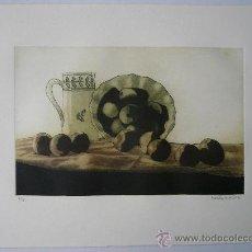 Arte: GRABADO - BODEGÓN CON JARRA. Lote 36338861