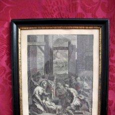 Arte: GRABADO NACIMIENTO S. XVIII. Lote 36445059