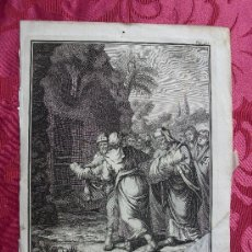 Arte: GRABADO S. XVIII. EL SANTO ENTIERRO. Lote 67581651