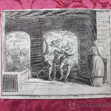 Arte: GRABADO S. XVIII. MARTIRIO DE SANTO?. Lote 36462260