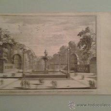Arte: 1707 - ARANJUEZ - FUENTE DE DON JUAN DE AUSTRIA - PIETER VANDEN BERGE. Lote 36498972