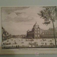 Arte: 1707 - ARANJUEZ - VISTA DEL PALACIO REAL - VEUE DU PALAIS - PIETER VAN DER AA. Lote 36499232