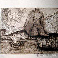 Arte: ANTONIO MAS. GRABADO ORIGINAL. Lote 36639264
