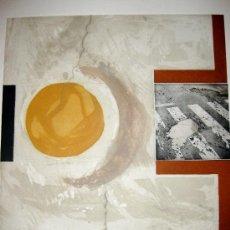 Arte: MANUEL QUINTANA MARTELO. GRABADO ORIGINAL. 1991. Lote 36912312