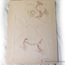Arte: GRABADO DE CAMAZA - PRUEBA DEL AUTOR. Lote 39414154