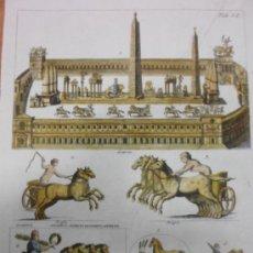 Arte: CIRCO MÁXIMO DE ROMA, 1757, MONTFAUCON. Lote 37117879