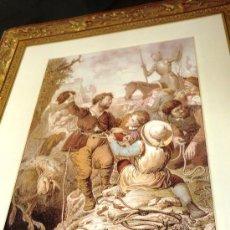 Arte: CARPETA FACSIMIL GRABADOS EDICIONES RUEDA DON QUIJOTE DE LA MANCHA. Lote 37312822