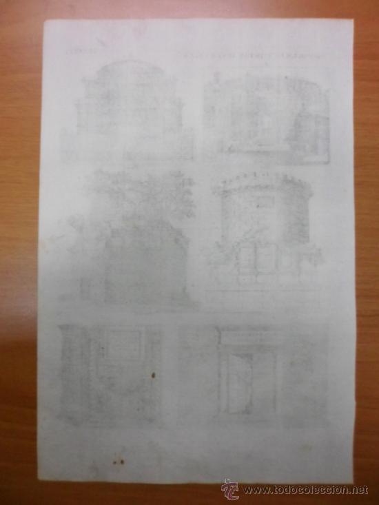 Arte: Mausoleos romanos, 1757, Bernard de Montfaucon - Foto 3 - 37682511