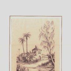 Arte: GRABADO DE CREVILLENTE LA CASA DE LAS PERSIANAS CARLOS QUESADA-- VER FOTOGRAFIA ADICIONAL. Lote 37783589