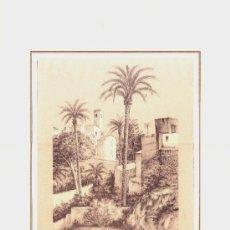 Arte: GRABADO DE CREVILLENTE LA TORRE CARLOS QUESADA-- VER FOTOGRAFIA ADICIONAL. Lote 37783599