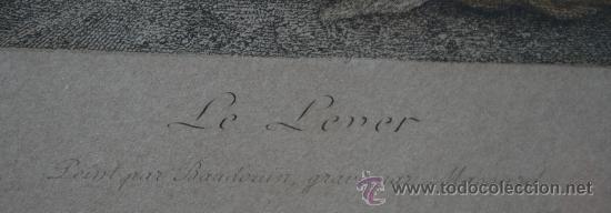 Arte: EXTRAORDINARIA PAREJA CUADROS GRABADOS FRANCESES SIGLO XVIII: LES ESTAMPES DU XVIII SIECLE - Foto 8 - 232551330