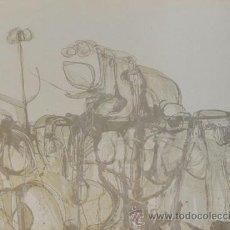 Art - Enric Cormenzana (Barcelona 1948-2011) grabado gofrado 56x76 firmado Astronauta 51/75 - 37972999