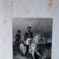 "Arte: GRABADO MUY ANTIGUO DE ""LE MARÉCHAL DAVOUT"" PAUL GIRADET SCULP.. Lote 38104414"