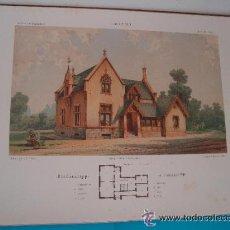 Arte: 6 GRABADOS DE 1865 PUBLICADA POR ERNST & KORN BERLIN. Lote 37626231
