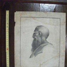 Arte: GRABADO S. XVIII SERIE DE FILOSOFOS, PIETRO CARD. BELBO. Lote 38270169