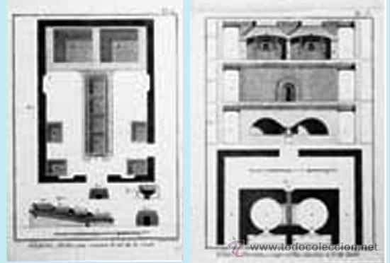 Arte: FF S. XVIII. LOTE CON 4 LÁMINAS GRABADAS DE TALLER DE CRISTALIZACION Y EXTRACCION DE LA SAL16 x 22 - Foto 3 - 38427768