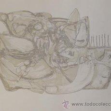 Arte: ENRIC CORMENZANA (BARCELONA 1948-2011) GRABADO GOFRADO 76X56 FIRMADO LÁPIZ Y NUMERADO 49/75. Lote 38449406