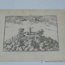 Arte: GRABADO ORIGINAL DE EL PLAN DU MONT-LOVY , BEAULIO , PARIS 1680. Lote 38630237