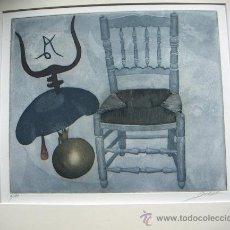 Arte: GRABADO ORIGINAL FIRMADO DURÁ. Lote 38655696