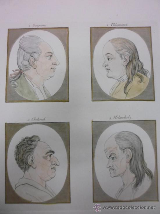 Arte: Fisionomia humana, 1780, Johann Gaspar Lavater - Foto 3 - 38761905