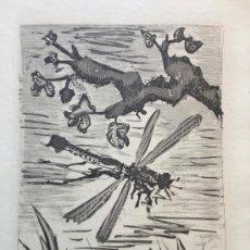 Arte: PICASSO, P. (1881-1973). LA LIBELLULE. EDICION 225 EJ. 1939. BLOCH 354.. Lote 38818488