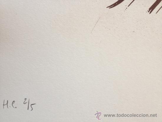 Arte: BROTO, JM (1949-). LITOGRAFIA GRAN TAMAÑO. 50 EJ. FIRMADA. NUMERADA. - Foto 2 - 38834237