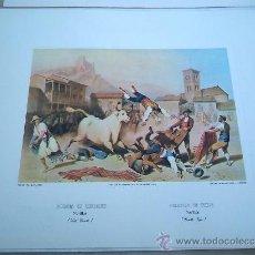 Arte: - NOVILLOS EDICIONES DE ARTE COL. GRABADOS ANTIGUOS TOROS TOREROS CORRIDAS. Lote 39038626