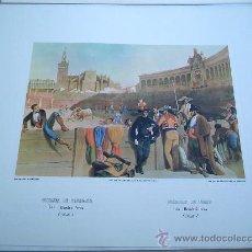 Arte: - BANDERILLEROS. EDICIONES DE ARTE COL. GRABADOS ANTIGUOS TOROS TOREROS CORRIDAS. Lote 39038671