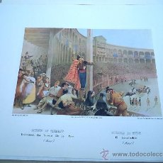 Arte: - EL ARRASTRADERO. EDICIONES DE ARTE COL. GRABADOS ANTIGUOS TOROS TOREROS CORRIDAS. Lote 39038717