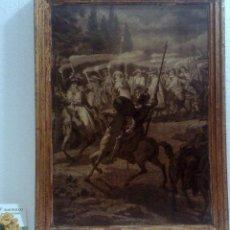 Arte: GRABADO O LAMINA ANTIGUA .-EL QUIJOTE .- DE GUSTAVE DORÉ. PARTE I.- CAPITULO XIII. Lote 35903882