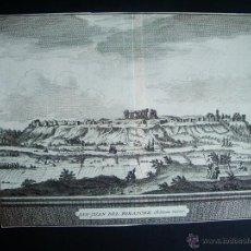 Arte: 1707-GRABADO SAN JUAN DE AZNALFARACHE.SEVILLA.ORIGINAL DE VAN DER AA. JUAN ALVAREZ DE COLMENAR. Lote 39685337