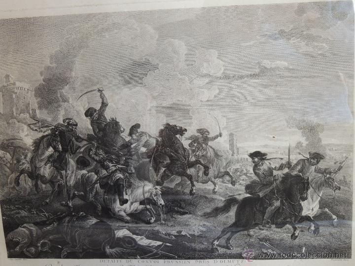 Arte: GRABADO DEL SIGLO XVIII FIRMADO POR AUG QUERFURT (1696-1761) - Foto 2 - 40211220