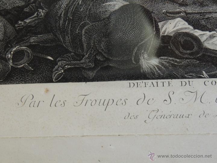 Arte: GRABADO DEL SIGLO XVIII FIRMADO POR AUG QUERFURT (1696-1761) - Foto 3 - 40211220