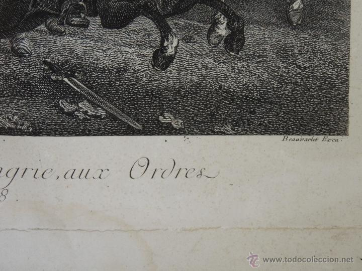 Arte: GRABADO DEL SIGLO XVIII FIRMADO POR AUG QUERFURT (1696-1761) - Foto 5 - 40211220