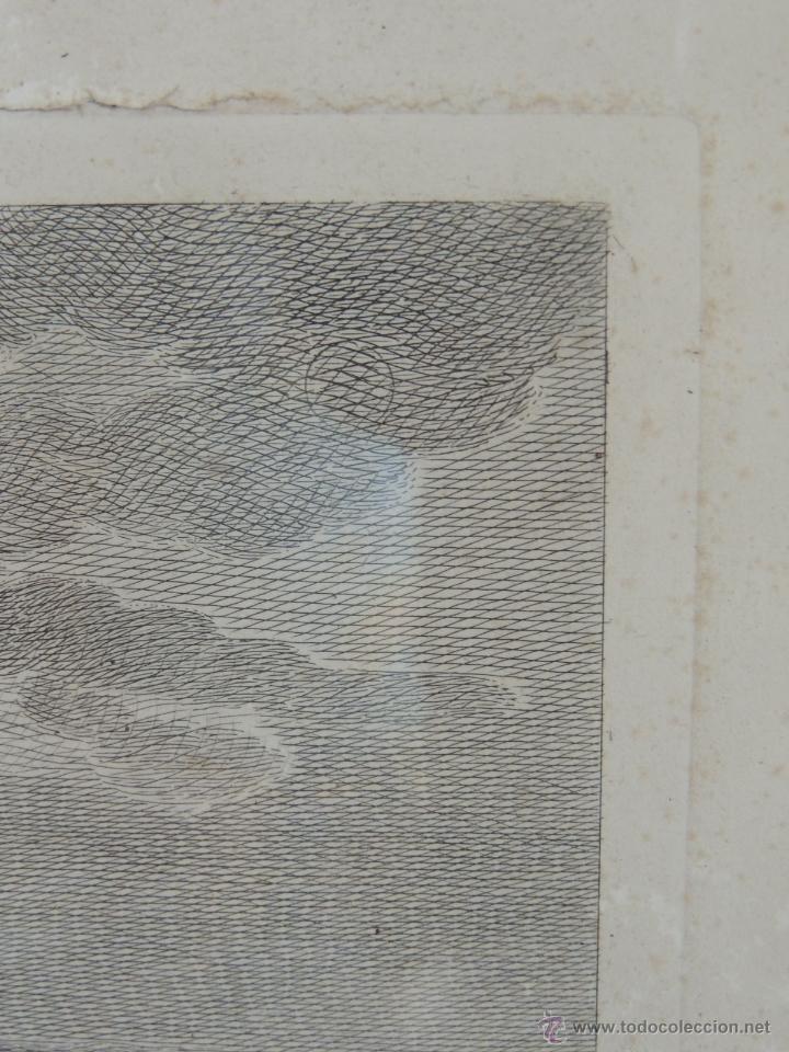 Arte: GRABADO DEL SIGLO XVIII FIRMADO POR AUG QUERFURT (1696-1761) - Foto 8 - 40211220