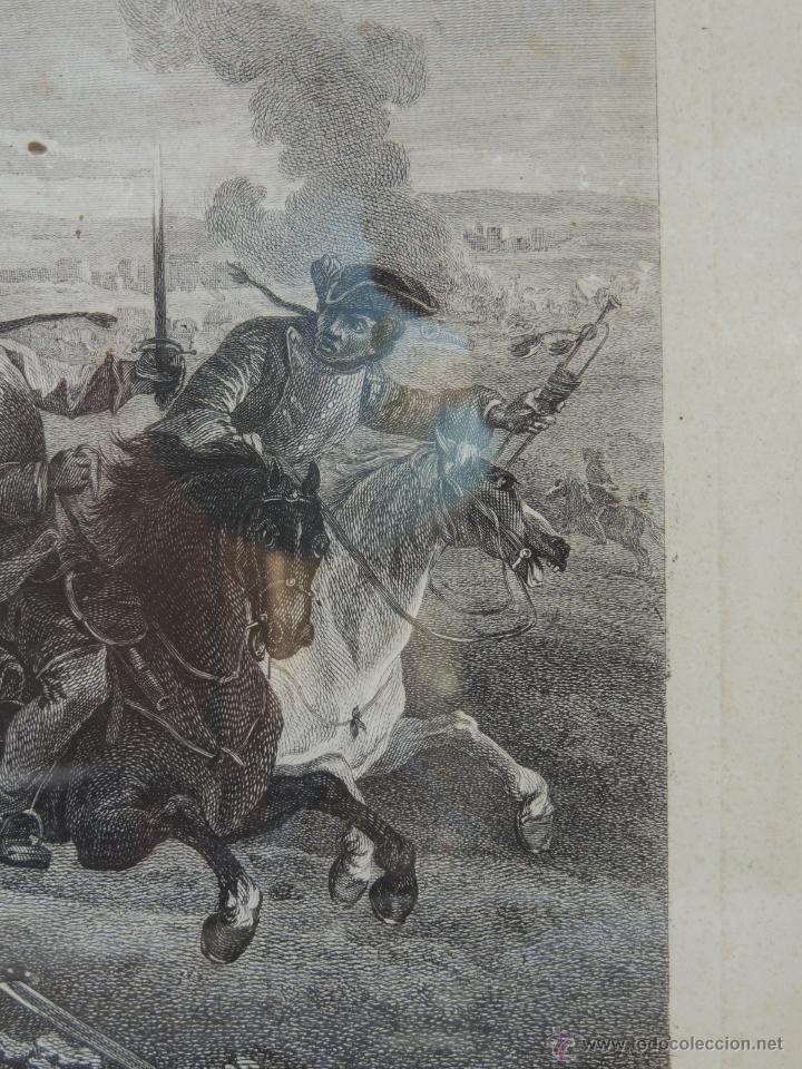 Arte: GRABADO DEL SIGLO XVIII FIRMADO POR AUG QUERFURT (1696-1761) - Foto 9 - 40211220